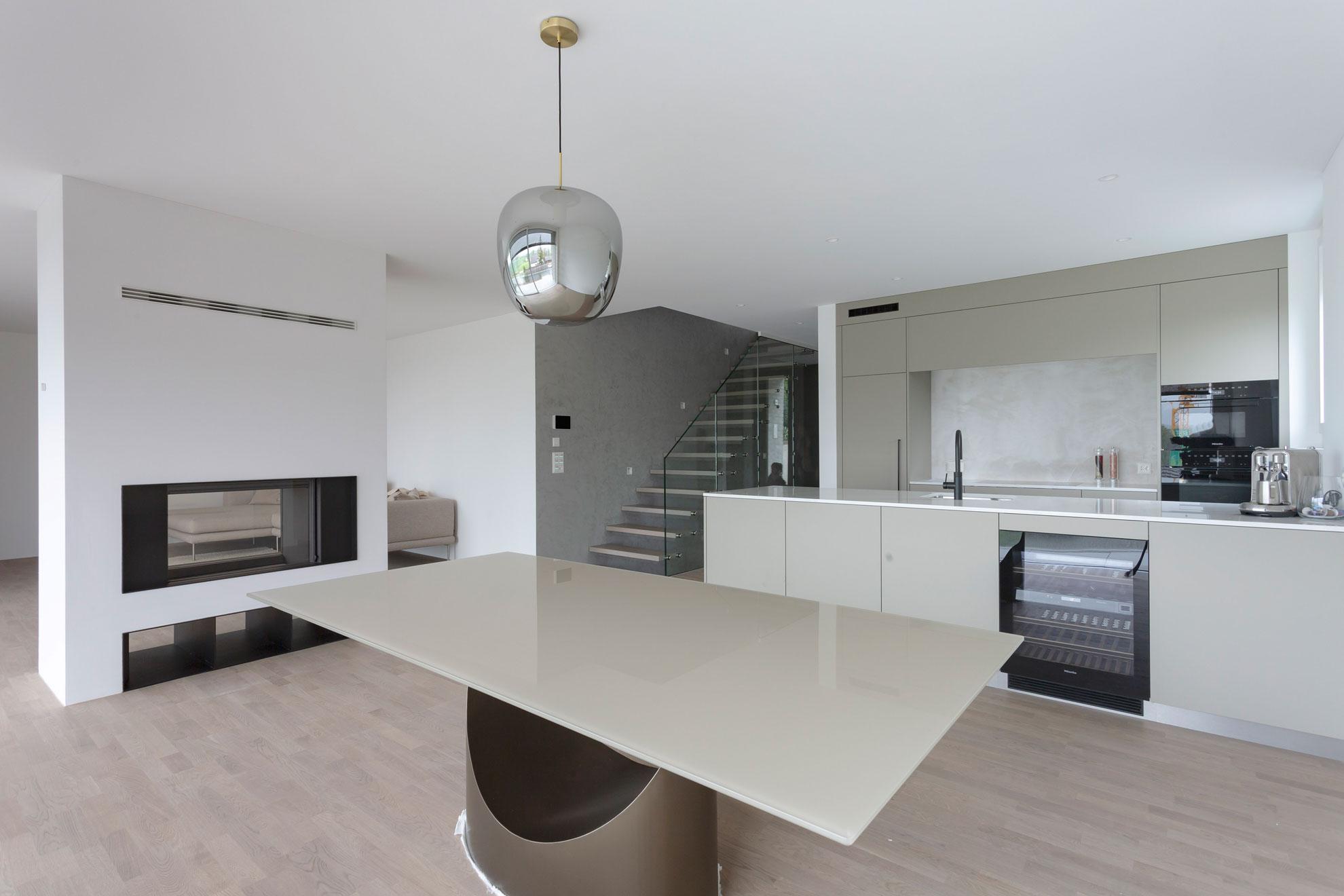 Doppel Einfamilienhaus in Oberwil BL, Baumgartner Architektur Aesch, Fotografie Matthias Dietrich, Fotofou